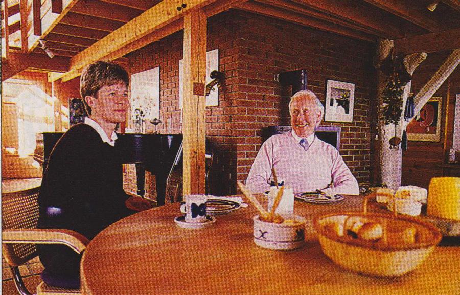 Gøril Oftedal og Sven Aarrestad