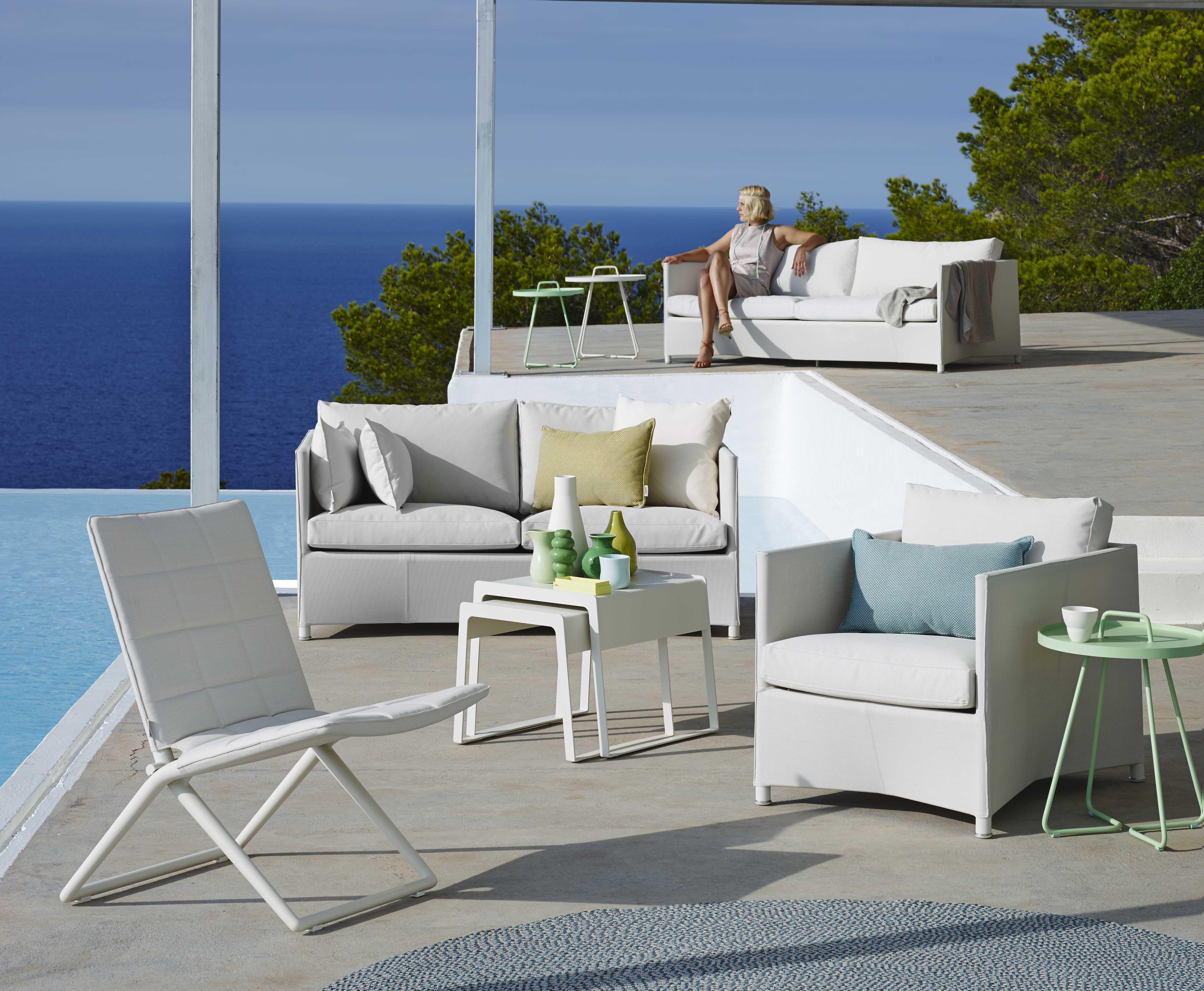 Diamond lounge sofagruppe fa danske Cane Line