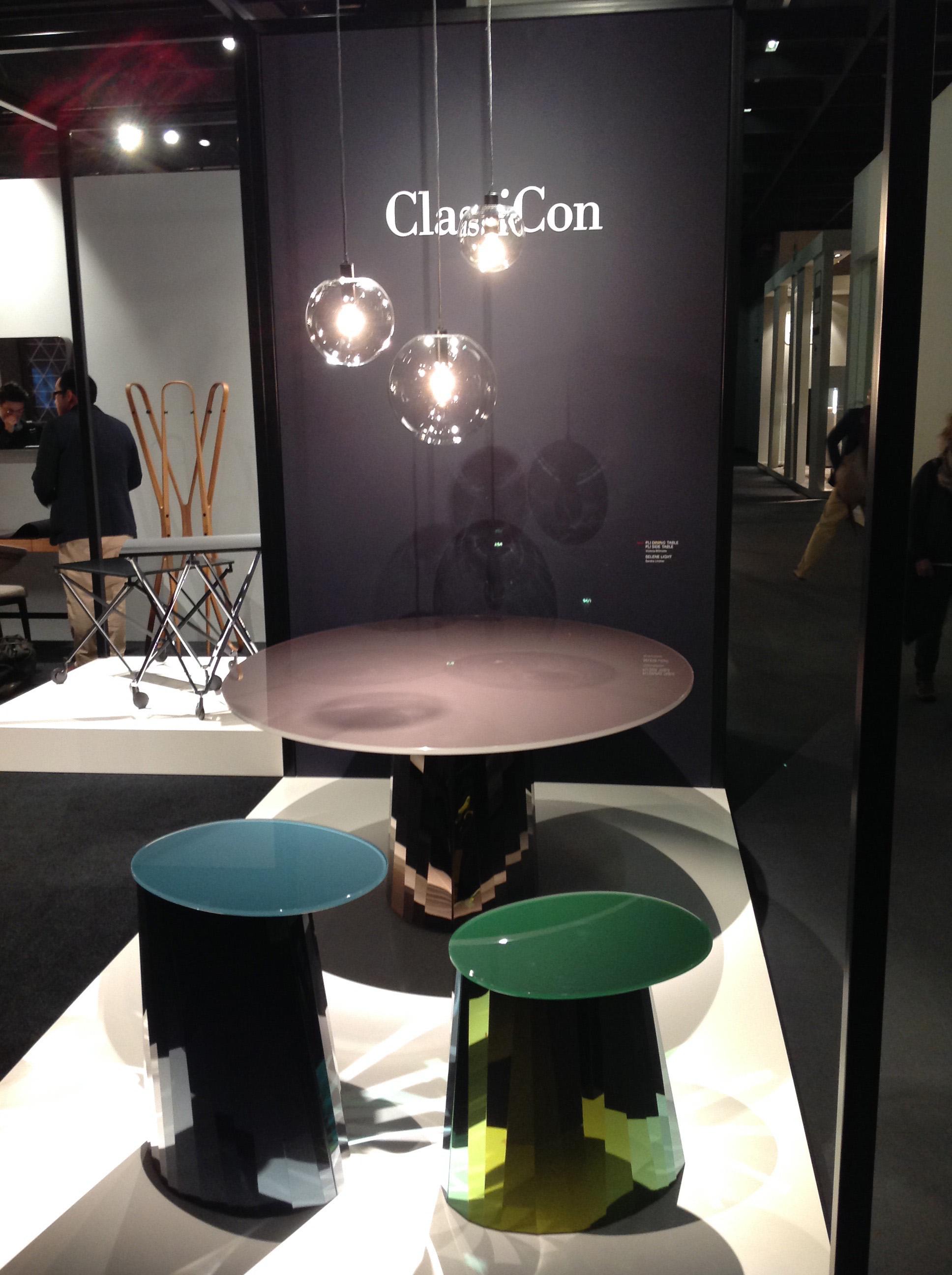 Nyhet fra ClassiCon, Pli side table designet av Victoria Wilmotte 2017