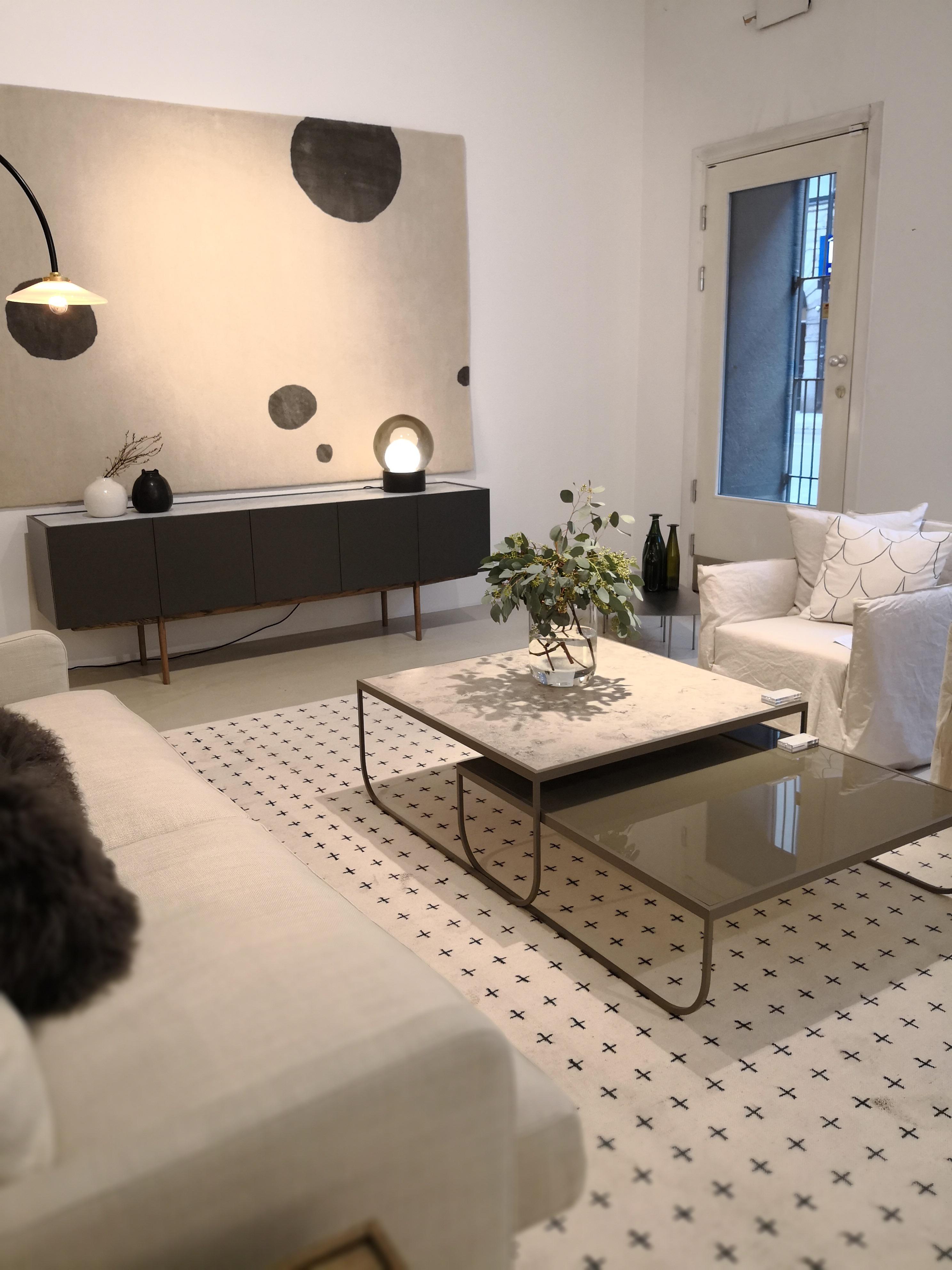 Asplund sitt showrom i Stockholm, vi har fått inn sofabordet som vist på bilde til utstillingen!