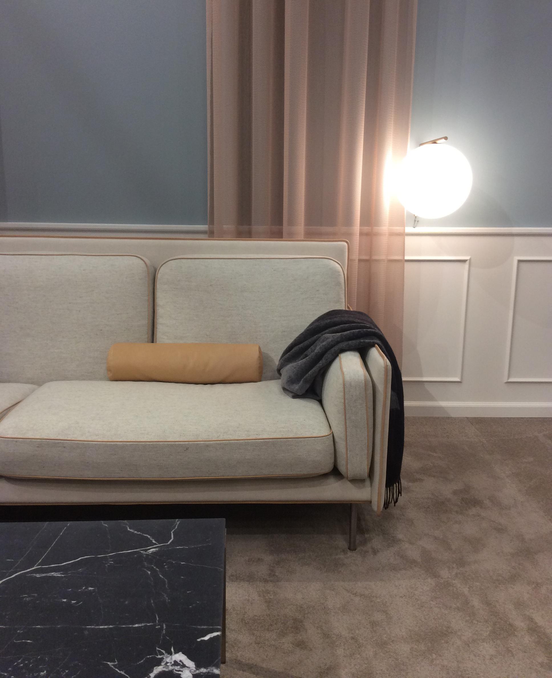 Hector sofaen til norske Andersen & Voll på Erik Jørgensen sin stand.