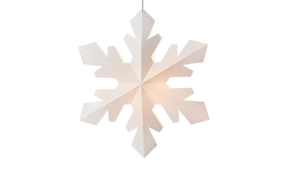 Snowflakes julebelysning fra Le Klint