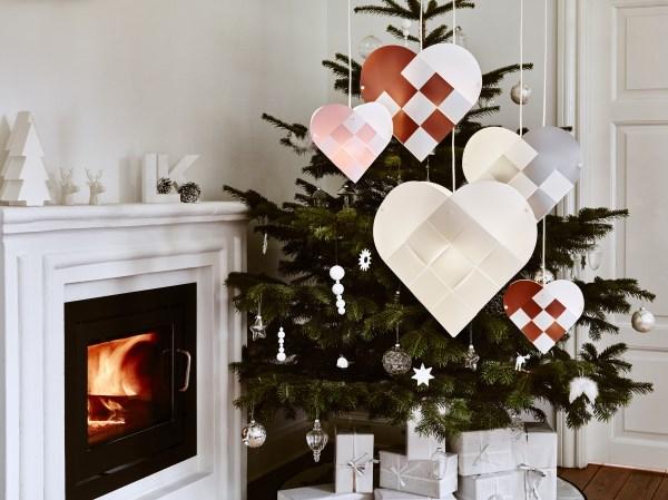 Julehjerter fra Le Klint