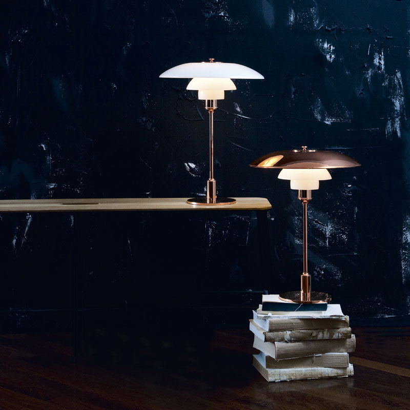 PH lampe designet av Poul Henningsen