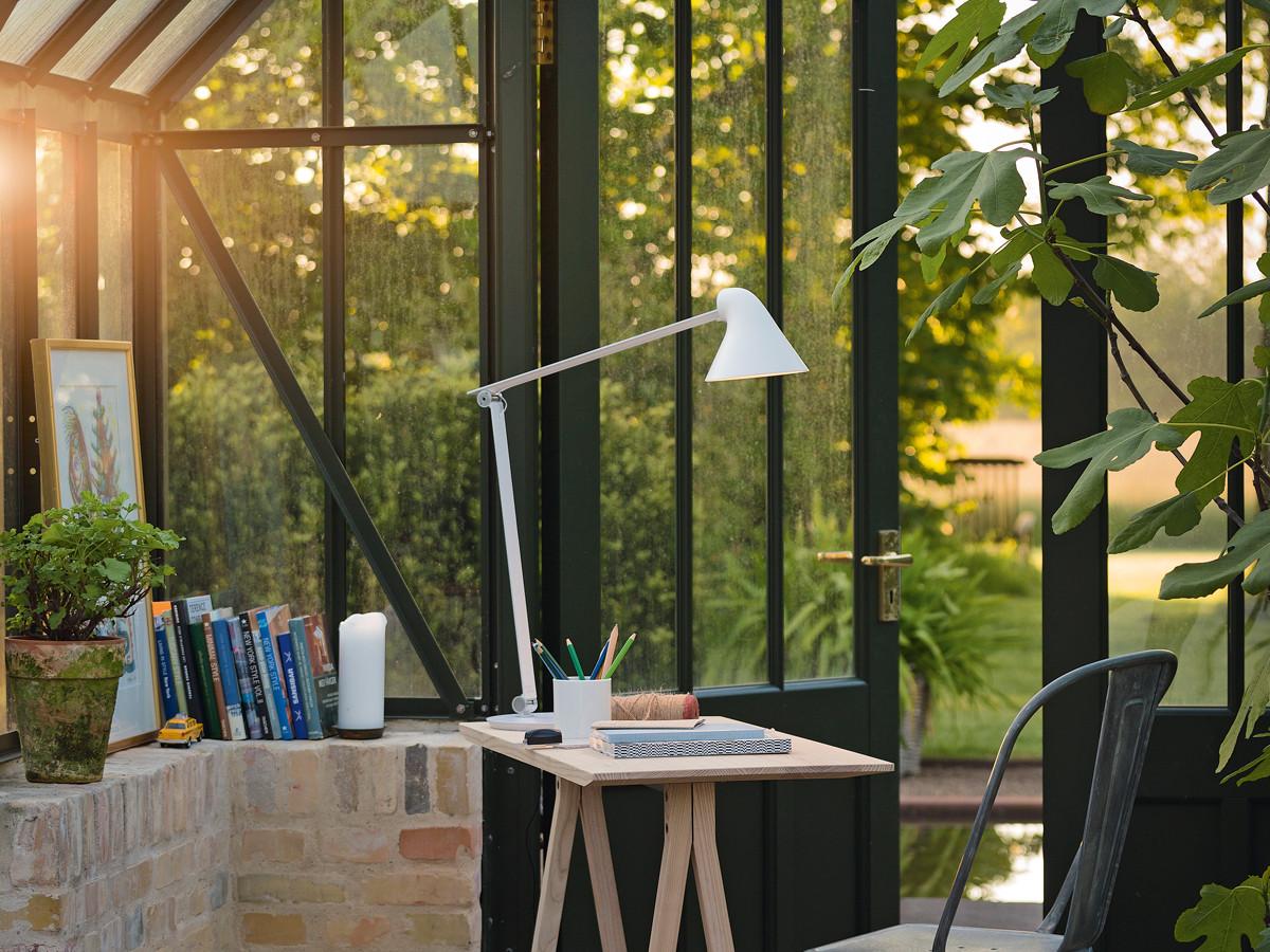 NJP lampe i hvit fra Louis Poulsen