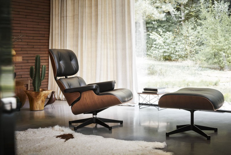 Eames Lounge Chair i Limited Edition, Mahognay!
