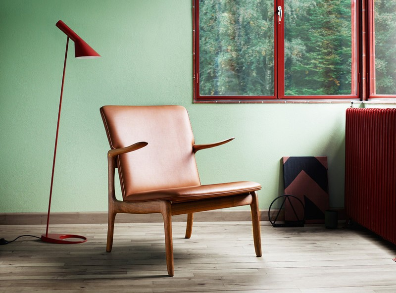 Beak chair fra Carl Hansen, design: Ole Wancsher
