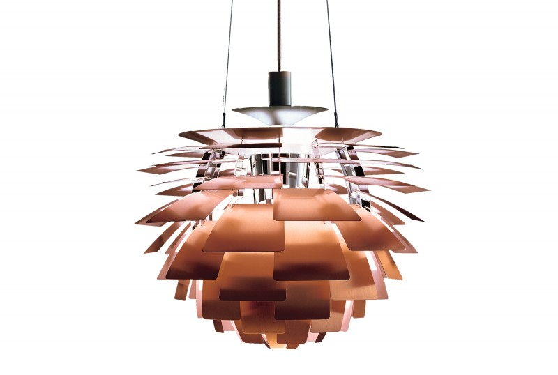 PH Kongle fra Louis Poulsen, design Poul Henningsen
