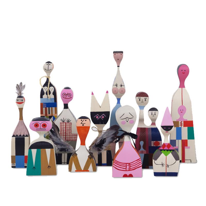 Wooden Dolls fra Vitra