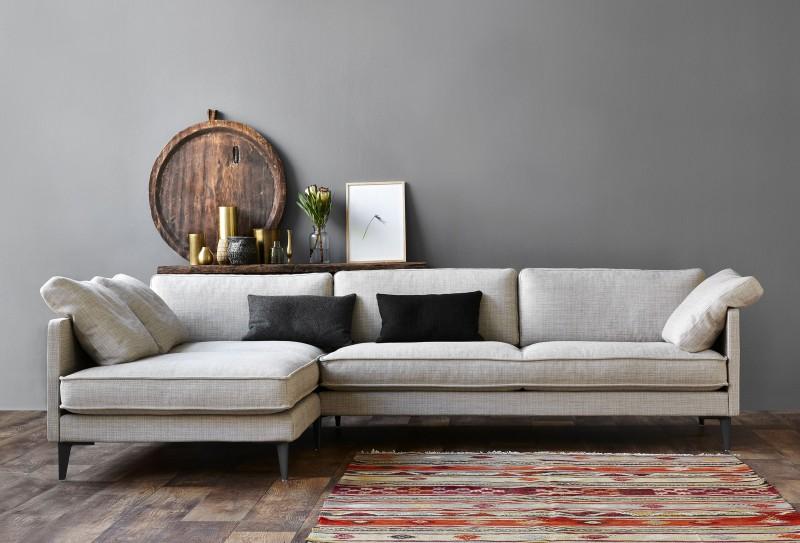 EJ 295 sofa med chaiseloung, fra Erik Jørgensen