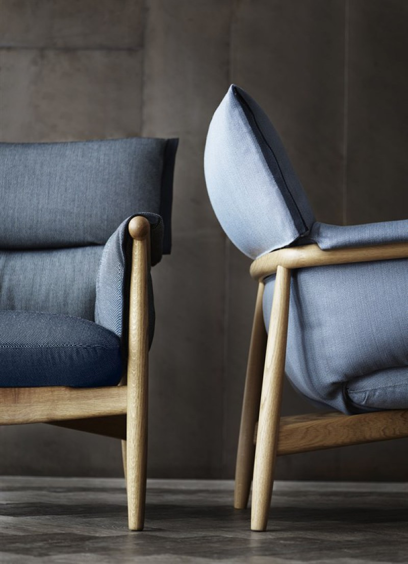 Embrace lounge stol fra Carl Hansen
