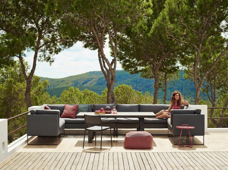 Flex dining - sofa til spisebordet fra danske Cane Line