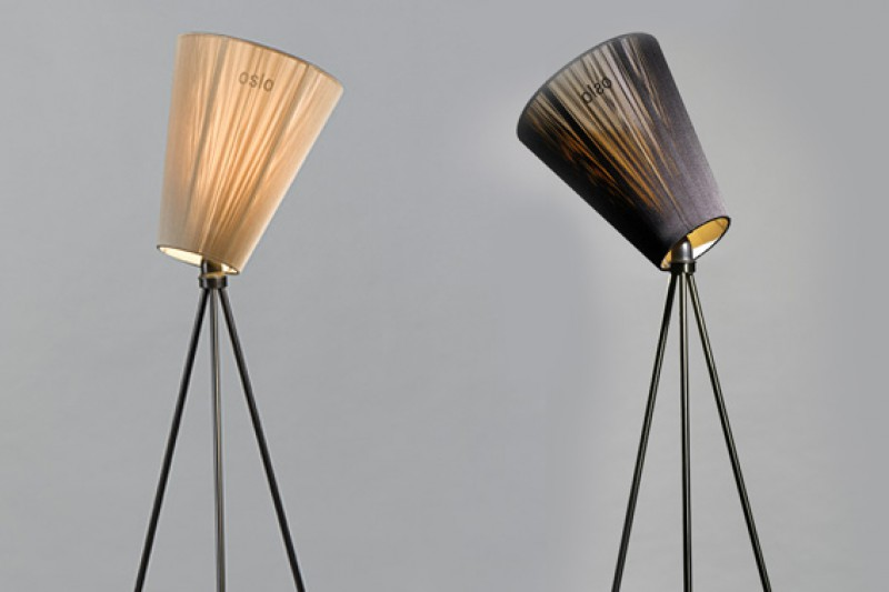 Oslo Wood lampe, Northern Lightning