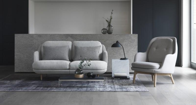 Lune sofa fra Fritz Hansen, design: Jaime Hayon 2017