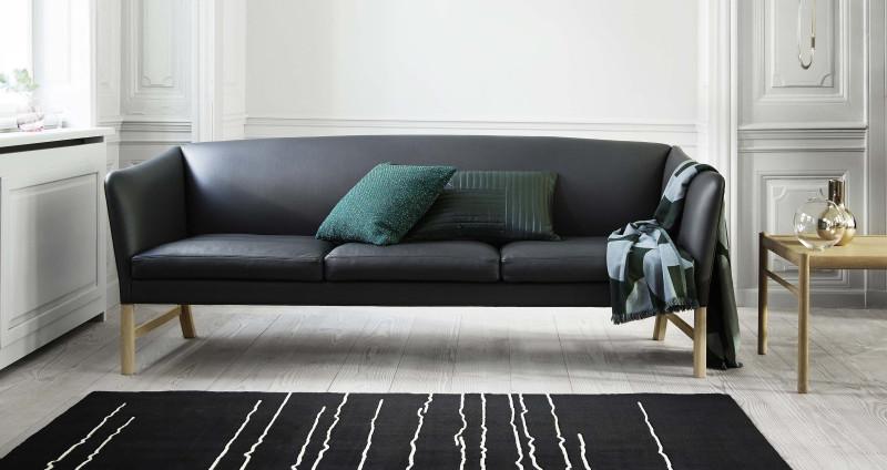 OW 603 sofa fra Carl Hansen, design: Ole Wanscher