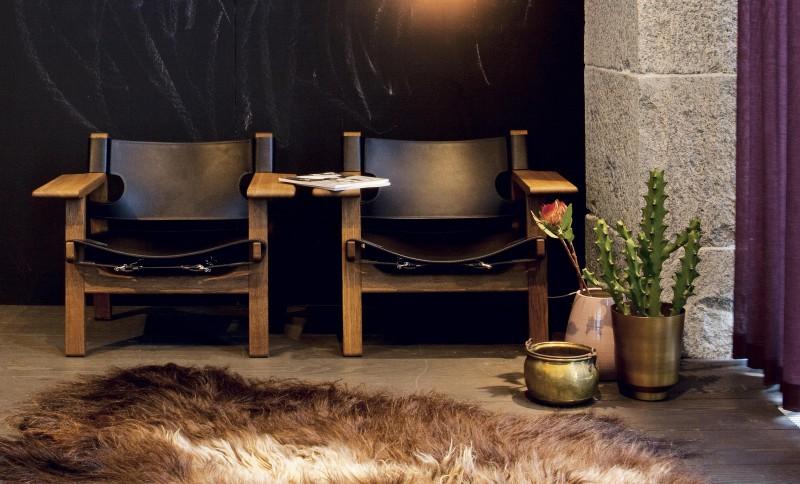 Den spanske stol fra Fredericia, design: Børge Mogensen