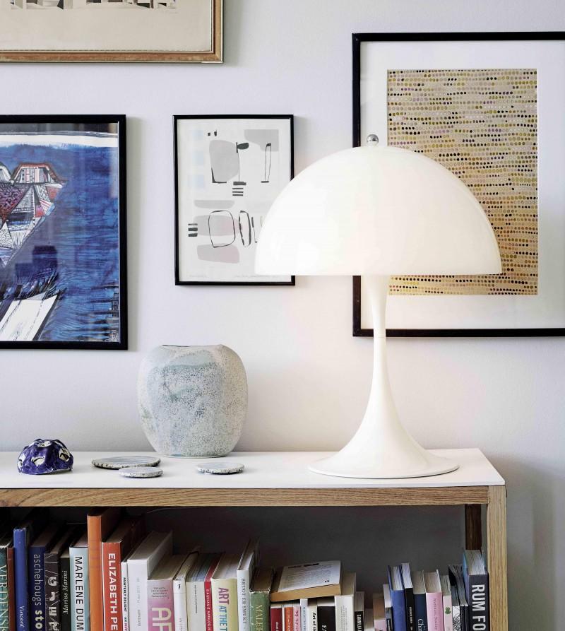 Panthella bordlampe fra Louis Poulsen