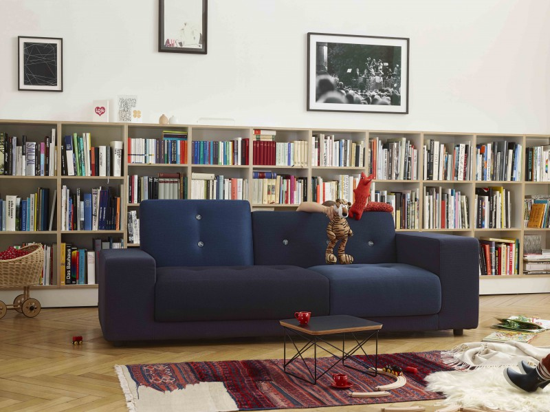 Polder sofa designet av Hella Jongerius