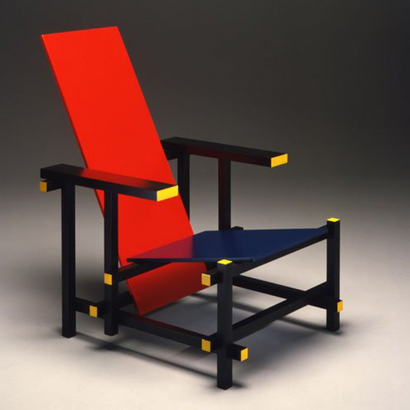 Red and Blue, Gerrit Thomas Rietveld 1918