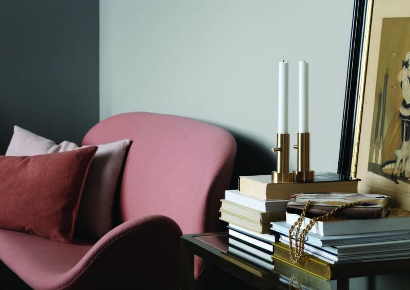 Svane sofaen er designet av Arne Jacobsen