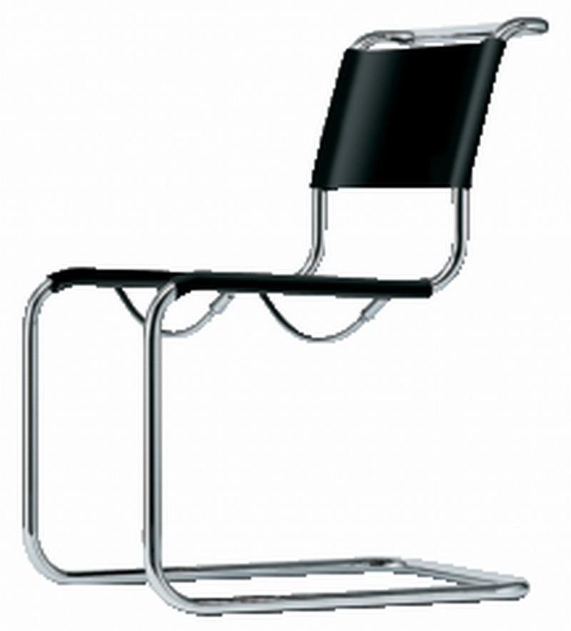 Klassisk stålrør stol fra Thonet