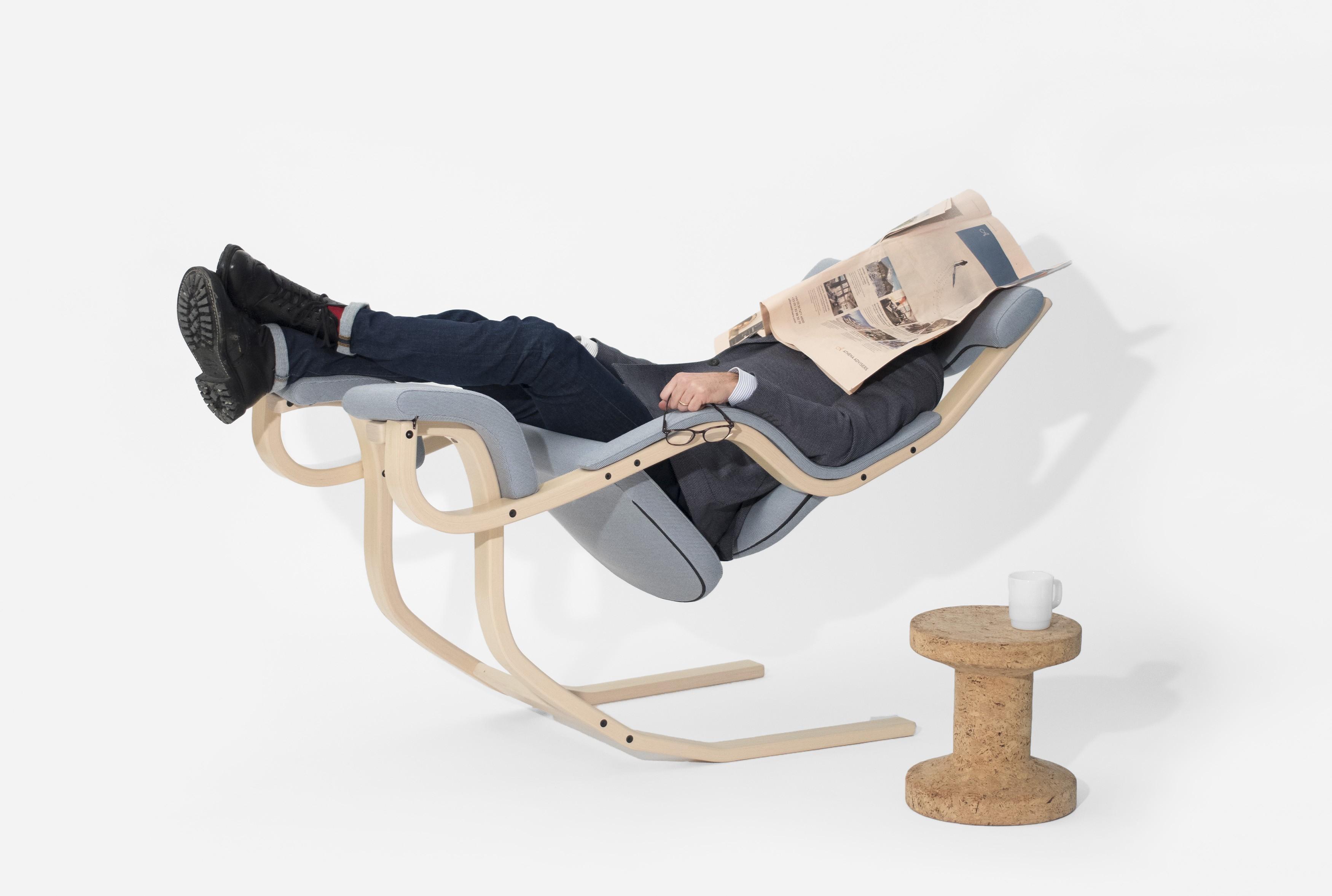 Peter Opsvik, Stokke. balansstol, 'Gravity Chair'  