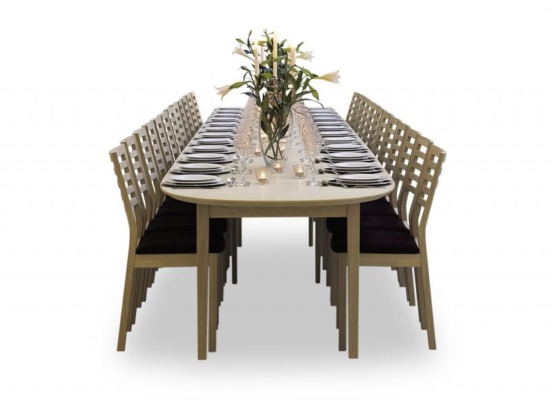 Modell Classic 255 spisebord fra Andersen Furniture