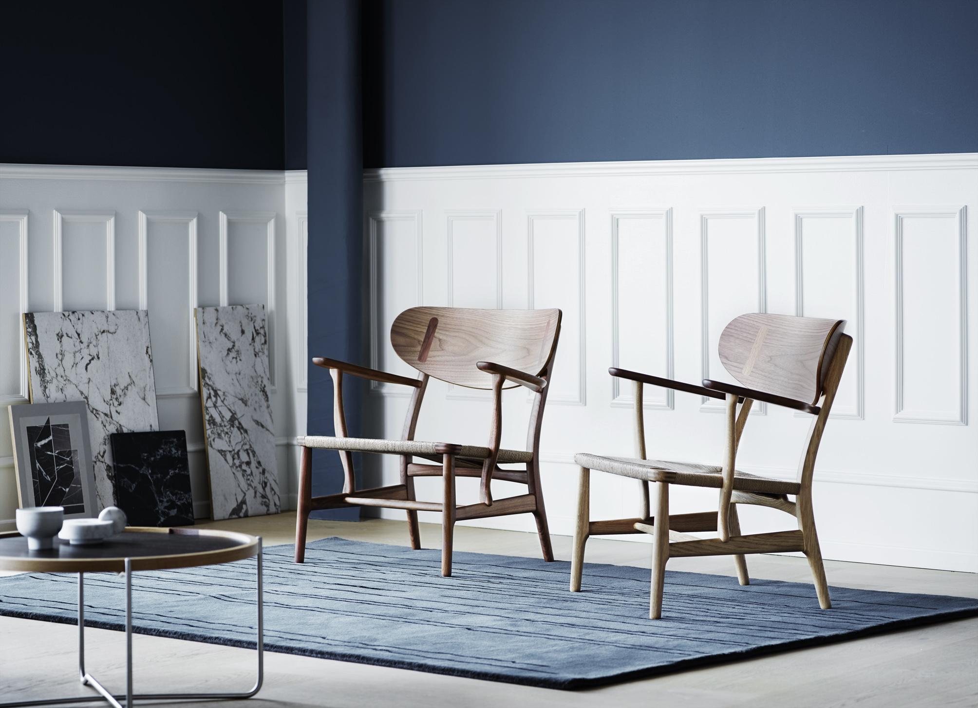 Relansering av Hans J. Wegners CH 22 loungestol (CH 26 spisebordstol)